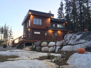 Custom Home – 2017 Sunshine Coast B.C.